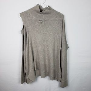 All Saints Sweater Cecily Cold Shoulder Jumper 589